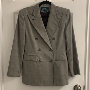 VTG Ralph Lauren Double Breasted Blazer